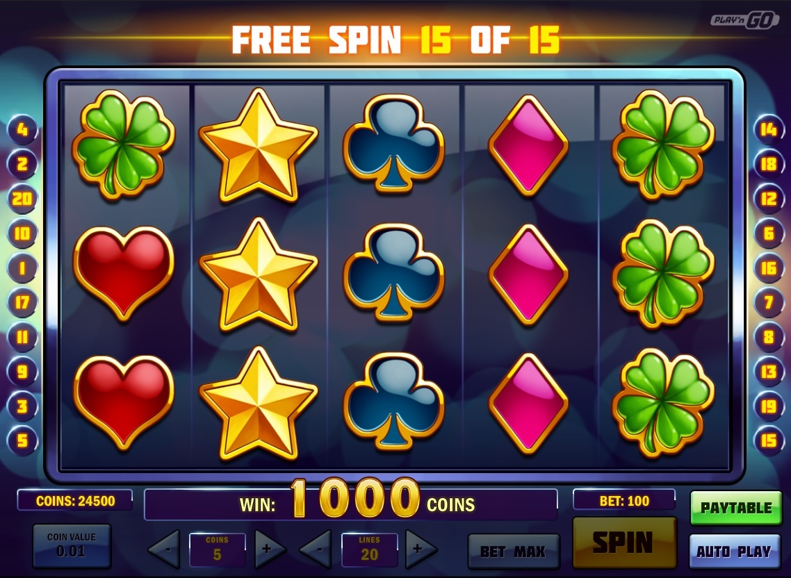 Free spin casino win real money